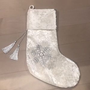 Christmas stocking crushed velvet